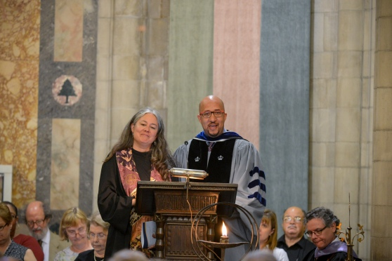 Rev. Leslie Takahashi and Dr. Mark Hicks